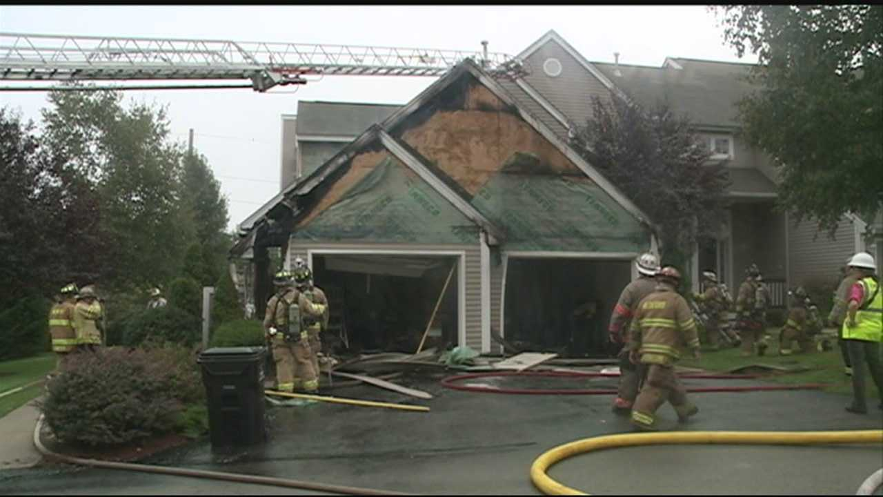 Lightning causes fires in NH