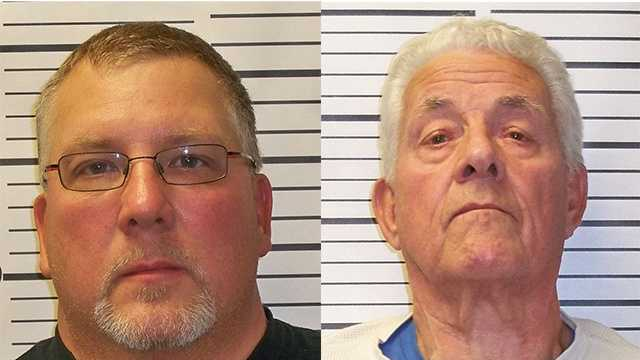 Father, son arrested in Milton dispute