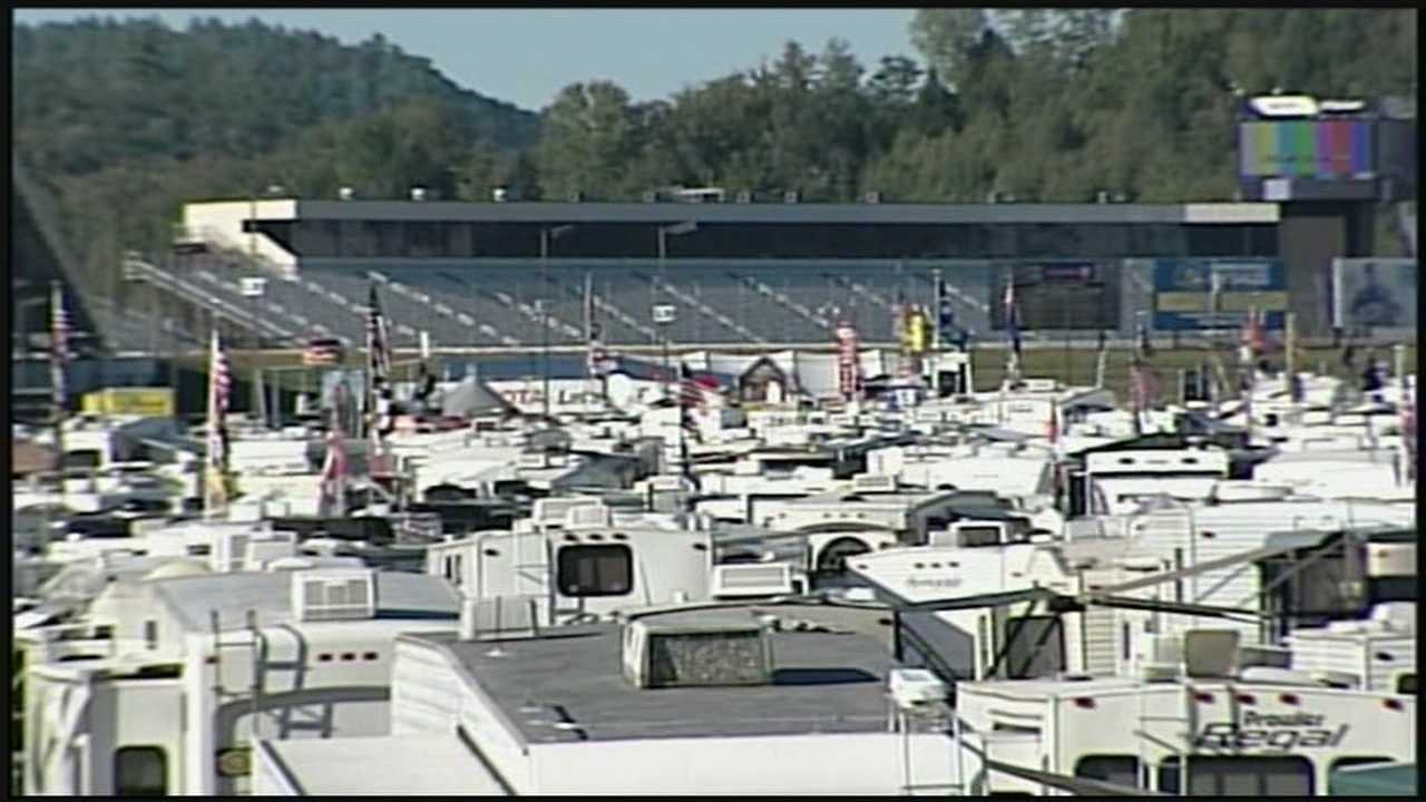 Thousands of people started to arrive for the Sylvania 300 NASCAR Sprint Cup Series Thursday.