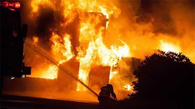 Christmas Island Resort fire