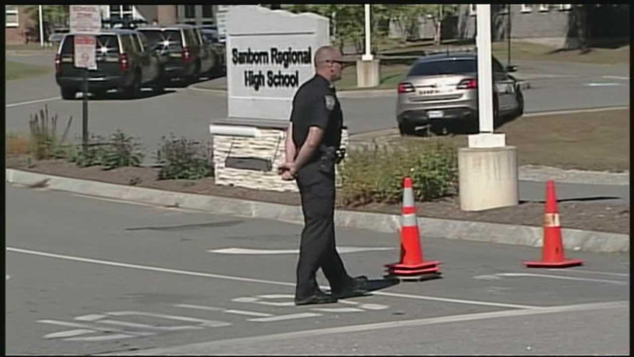 Former student in custody after lockdown at Sanborn Regional High School