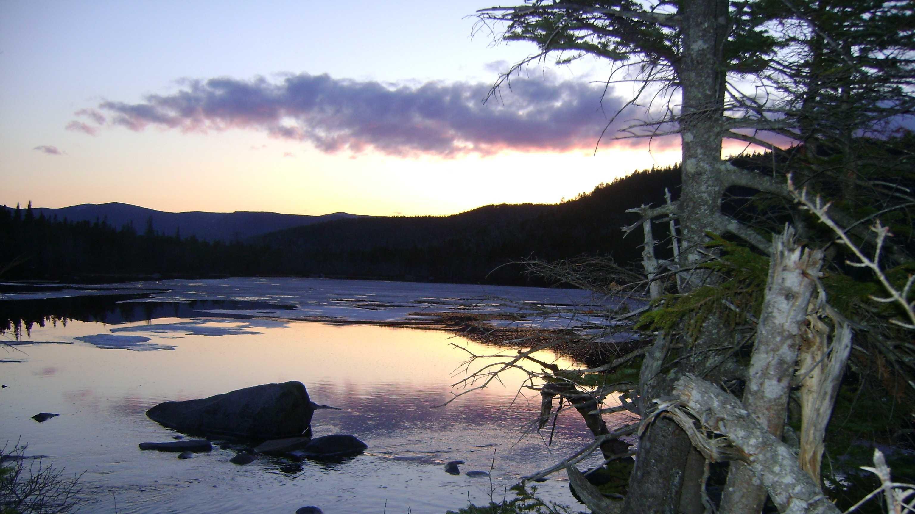 Ethan Pond on Appalachian Trail