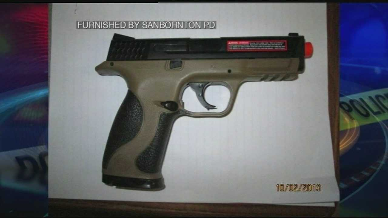 Man accused of firing pellet gun at bus