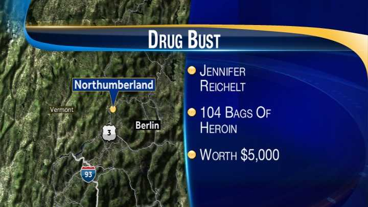 map-Northumberland heroin