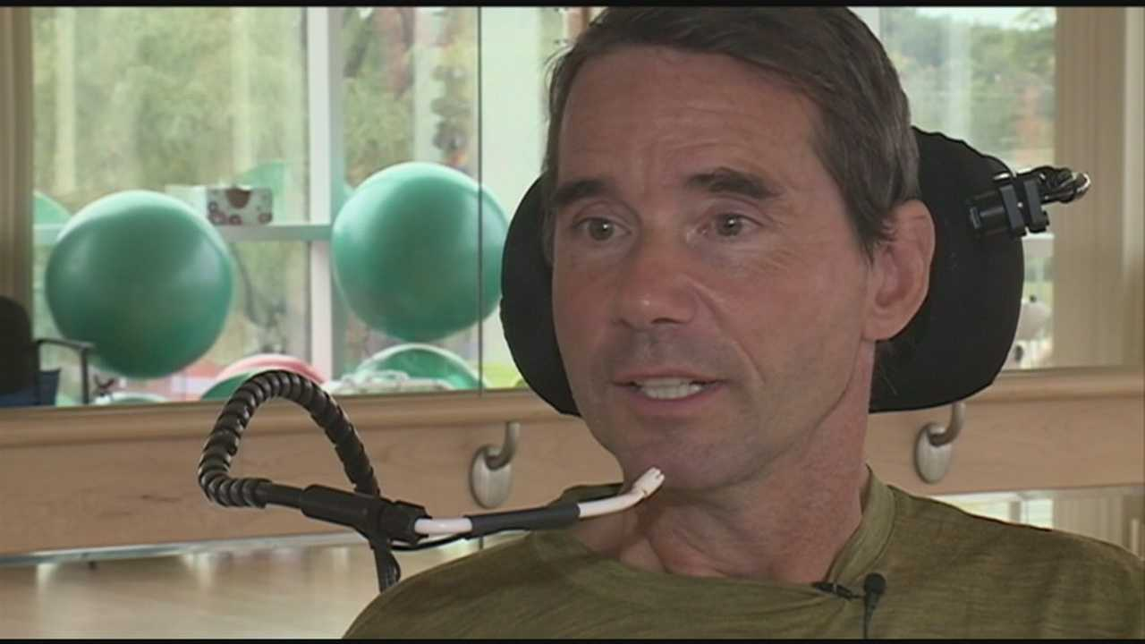 Newfields man hopes to recover from accident