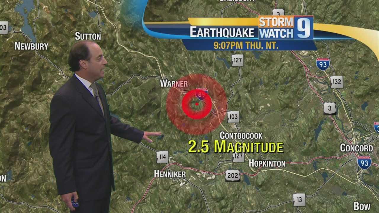 Mike on Thursday Earthquake