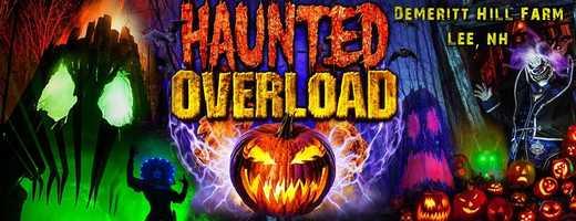 3) Haunted Overload in Lee, N.H.
