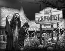 Tie-9) Screeemfest in Canobie Lake Park, N.H.