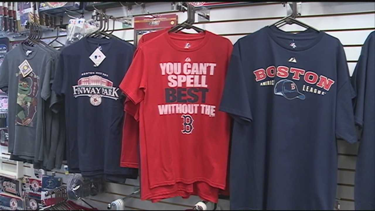Championship gear ready if Red Sox win