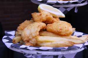 The food spot will be offering freshly battered fish and chips.