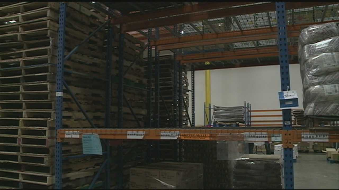 Shelves bare at New Hampshire Food Bank