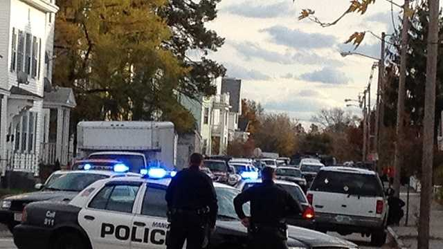 Manchester police investigating incident on Rimmon Street