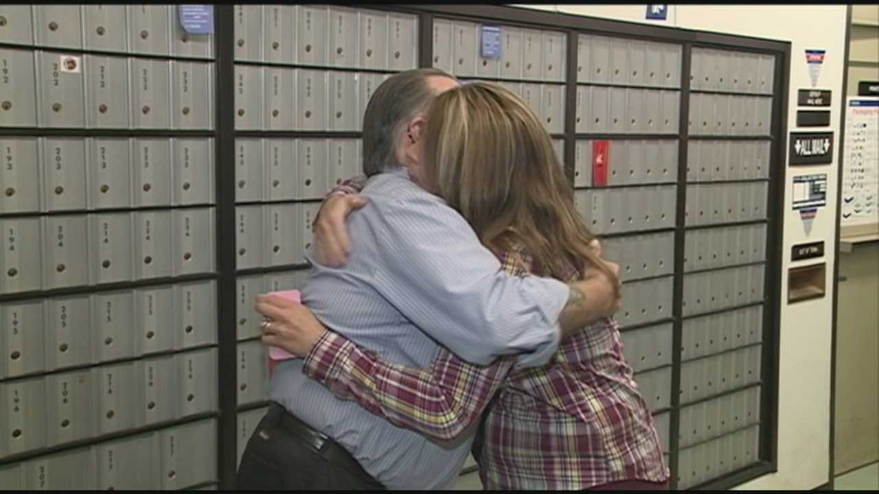 A Whitefield veteran turned postal worker is showing his support for those currently serving, one care package at a time.