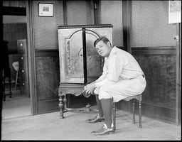 The first time the Boston Red Sox clinched a World Series at Fenway Park was 1918 and Babe Ruth was on the team.
