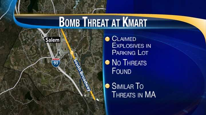 map-Kmart bomb threat