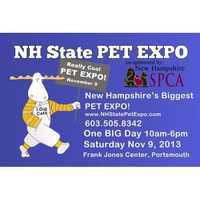 Nov. 9: NH State Pet Expo hosted by the NH Society for the Prevention of Cruelty to AnimalsAt the Frank Jones Center in Portsmouth. Tickets are $7.50.