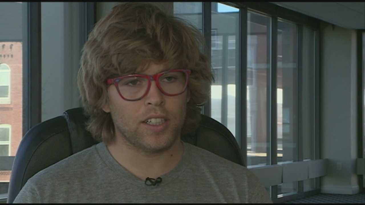 Snowboarder tries to help others as he recovers from brain injury