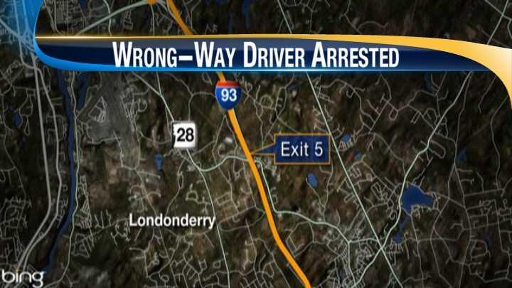 map-Wrong way driver