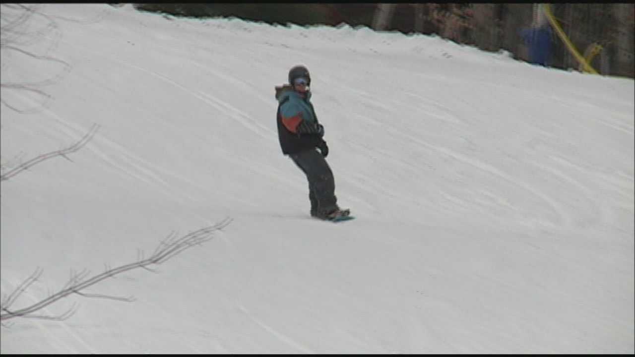 Some ski areas already open