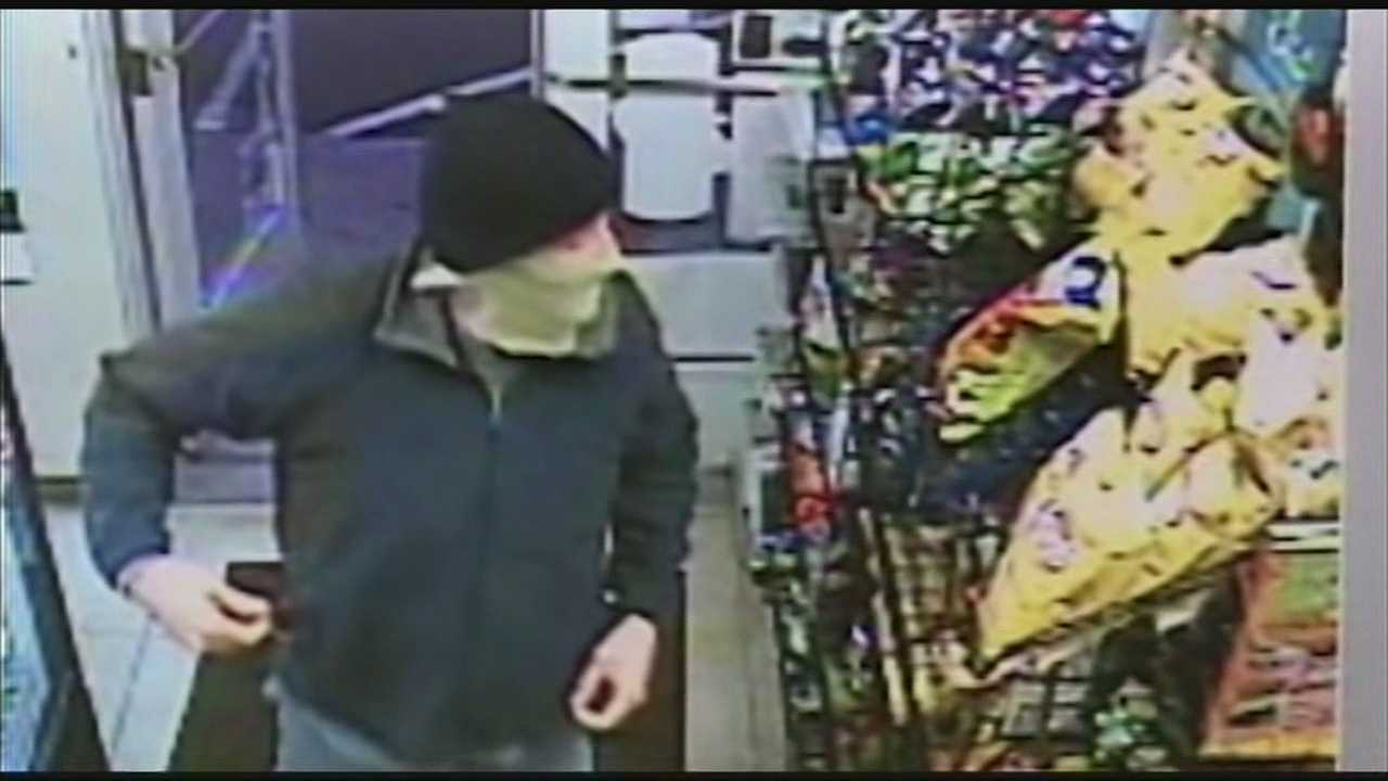 Surveillance video shows Seabrook robbery