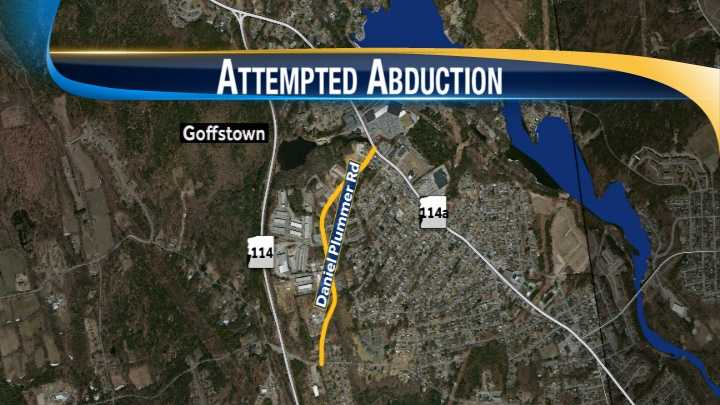 map-Goffstown attempted abduction