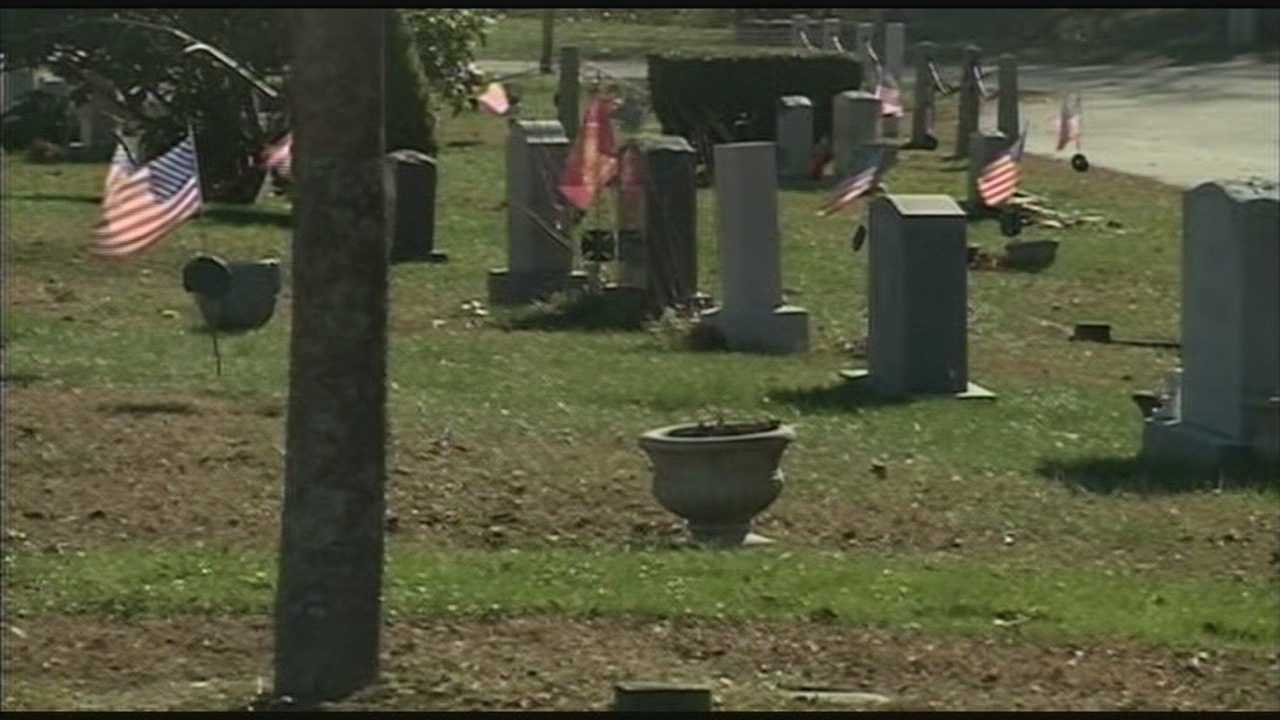 Town officials track down man's burial site