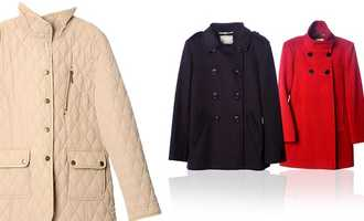 Select styles of women's coats will be 60% off.