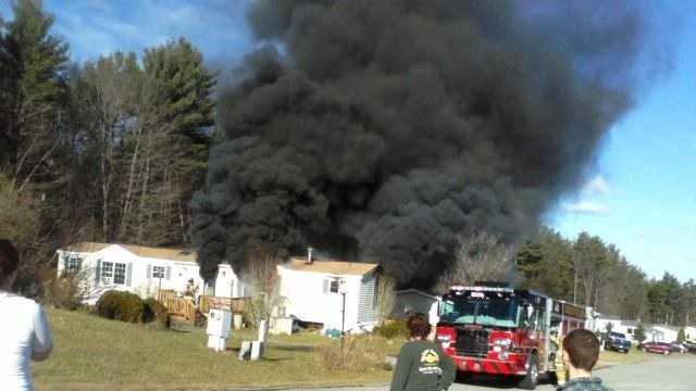 Rochester firefighters battle blaze