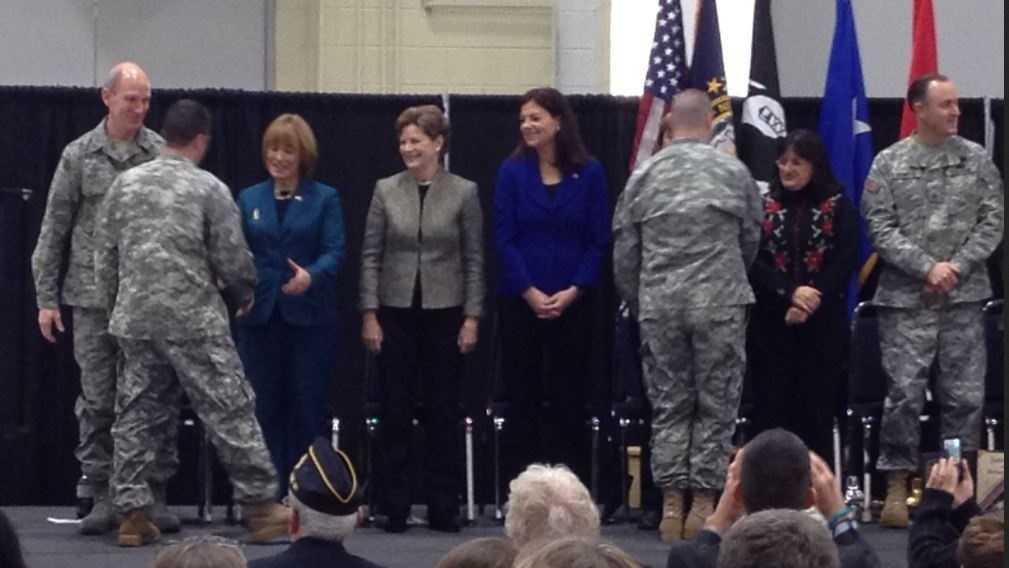 Troops welcomed home in N.H.