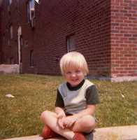 Josh McElveen as a kid