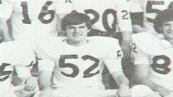 Tom Griffith on his football team
