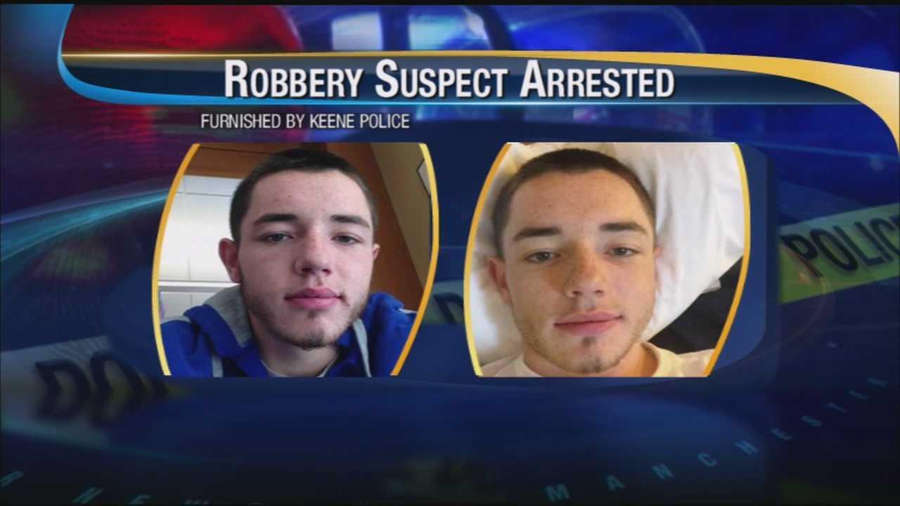 Man sought in Keene robbery arrested in Mass.