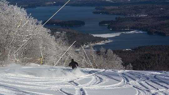 Mount Sunapee skiing