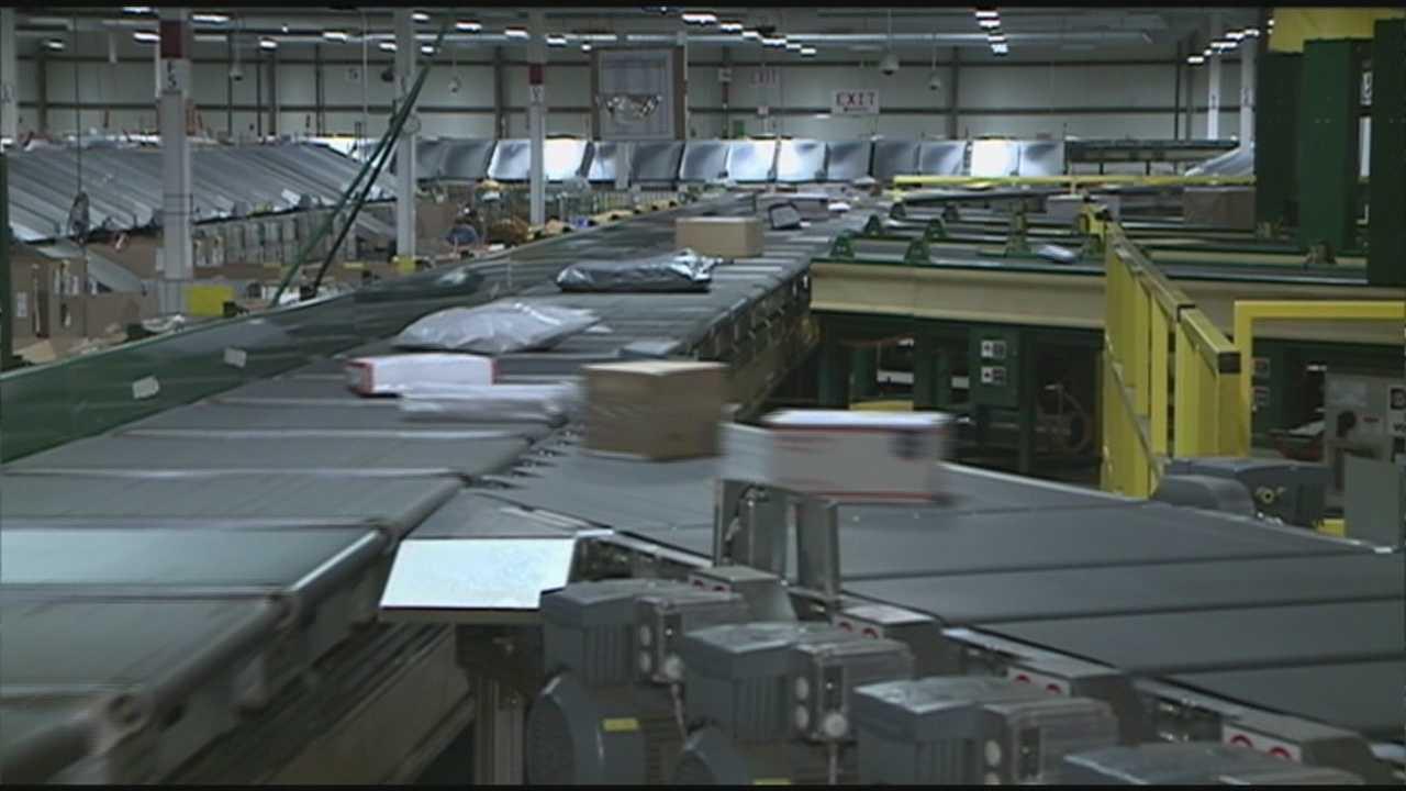 Behind the scenes at Nashua postal sorting center