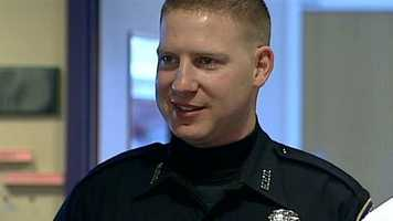 "Dan Doherty, a Manchester police officer who was shot five times, returned to work after 11 months. ""Very glad that I'm able to go back to work,"" Doherty said. ""Not just that I'm alive and here to go back to work, but knowing that I'm able to fulfill the career that I began.""Read more: http://www.wmur.com/news/nh-news/Manchester-Officer-Dan-Doherty-glad-to-be-back-on-the-job/-/9857858/18422964/-/lb9q02z/-/index.html"