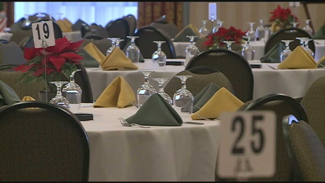For the fifth year in a row, the Grappone Center in Concord hosted a Christmas dinner Wednesday, taking a page from the nearby Windmill Restaurant, which offers a Thanksgiving dinner for those in need.