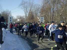 The annual Boston Prep Road Race in Derry ... 16 tough, hilly miles to get runners ready for the Spring marathon season.