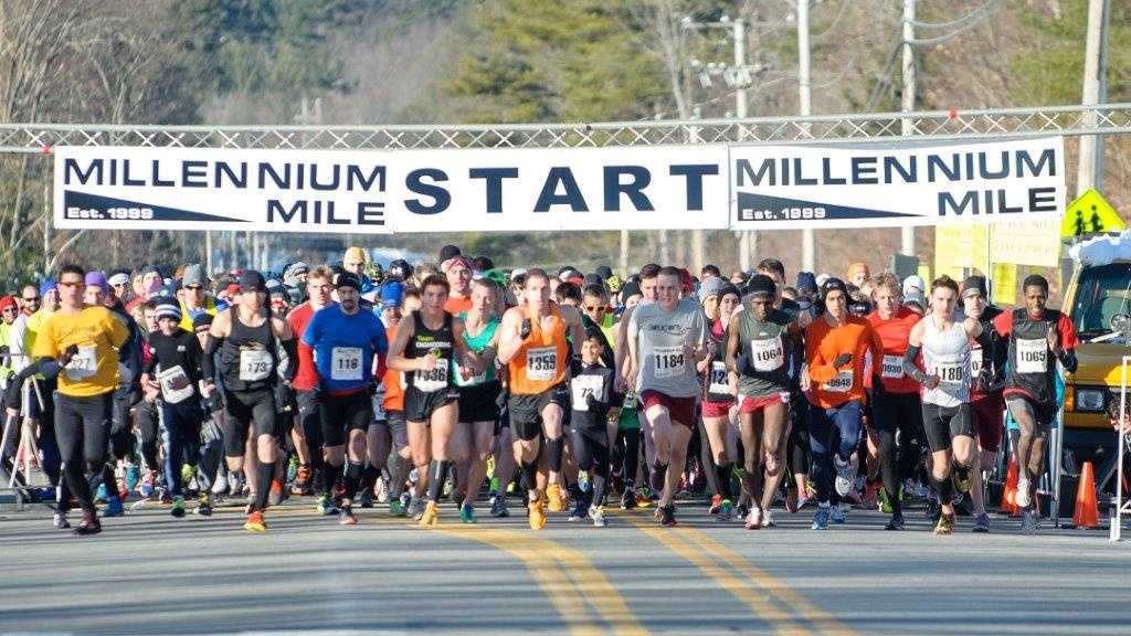 Get ready to spring! The Millennium Mile is always a great way to start the new year off with a fast run.