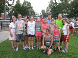 The Cigna-Elliot Corporate 5K.  It surpassed its own record as NH's largest race, and 12 members of the Staton extended family were there to run and cheer.