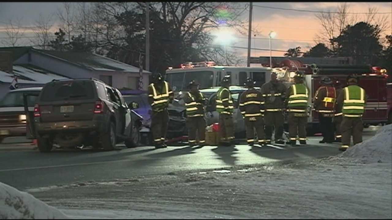 Amherst Route 101A crash