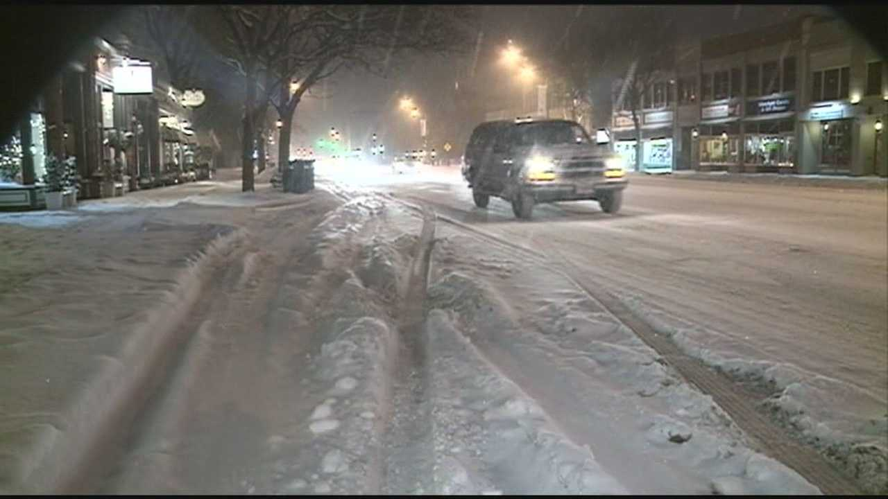 Crews work to keep roads clear