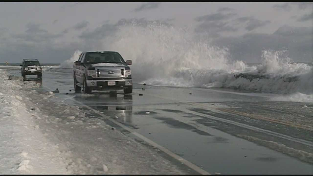 High winds, high tides on Seacoast