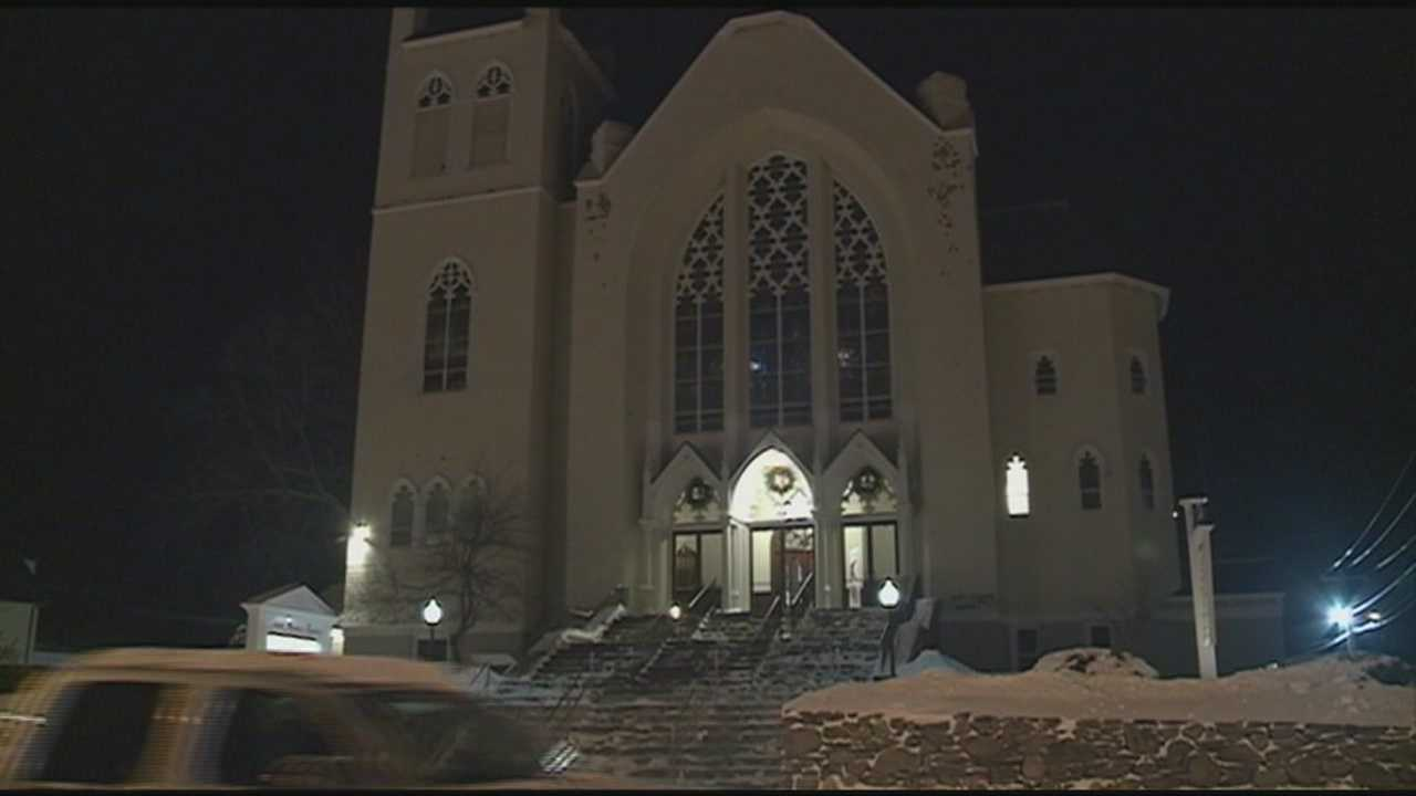 Dozens gathered at the Saint Thomas Aquinas Catholic Church in Derry Friday night to remember 17-year-old Kyle Ross, who was killed in a car accident on New Year's Eve, and to pray for 16-year-old Johanna Morse, who was seriously injured in the accident and is recovering at a Boston hospital.