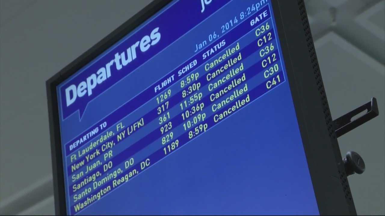 Jet Blue travel mess