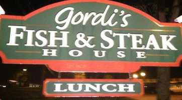 Tie-8) Gordi's Fish & Steak House in Lincoln