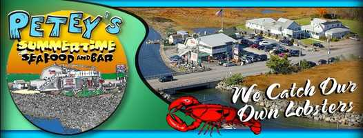 2) Petey's Summertime Seafood and Bar in Rye