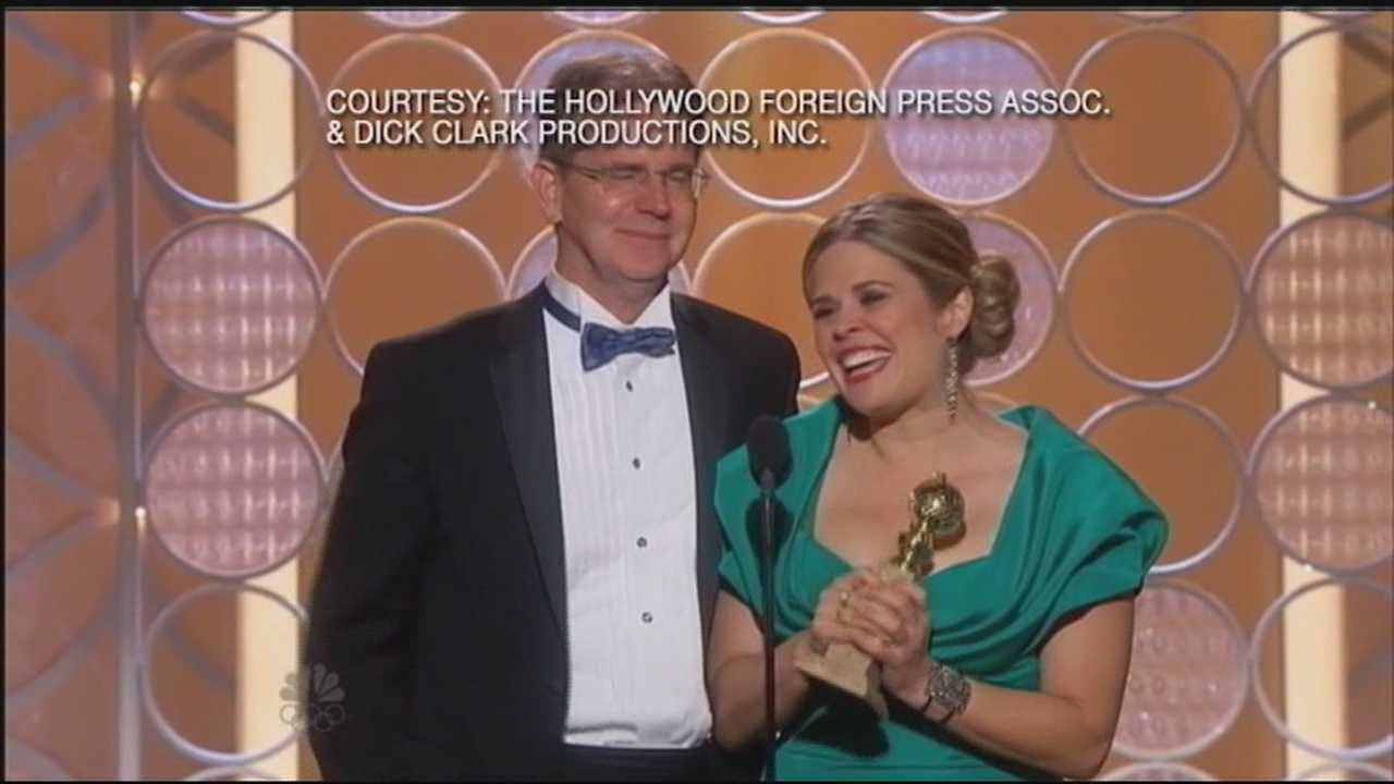 UNH Golden Globe winner