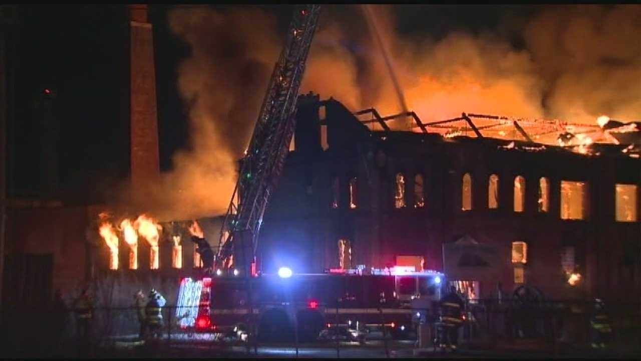 Salem NH crews respond to Mass. fire