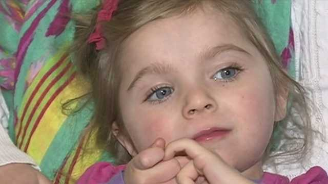 Deerfield girl helps raise awareness, money for Rett syndrome research