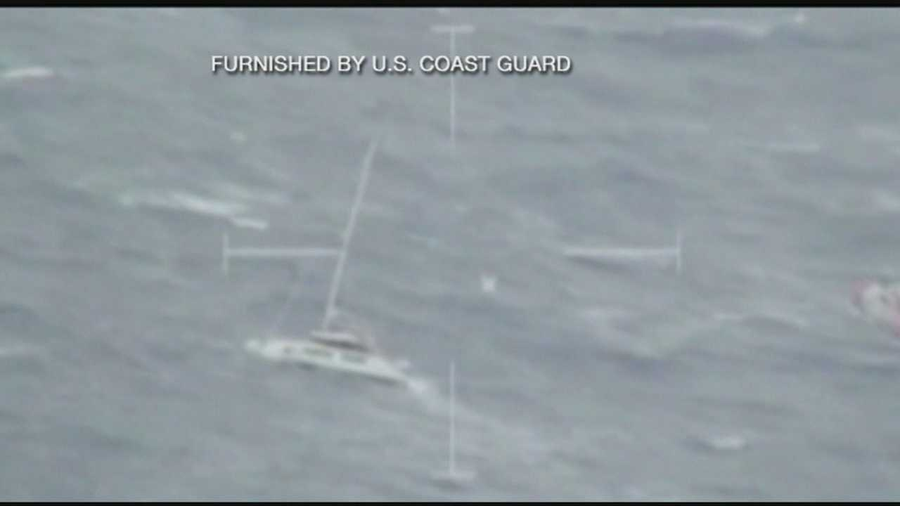 People rescued by Coast Guard